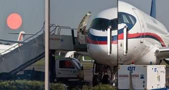 Опубліковано останні фото пілотів та літака Superjet-100