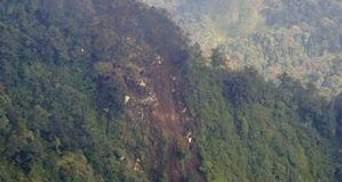 В Индонезии нашли обломки авиалайнера Sukhoi Superjet-100