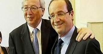 Олланд обговорив з Юнкером економічне зростання у ЄС