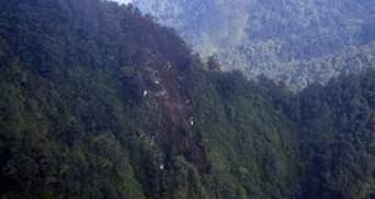 В інтернеті з'явилось відео з місця аварії SSJ-100
