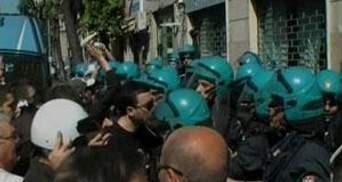 В Италии произошли столкновения между протестующими и полицией