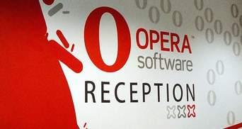 Акції Opera зросли на фоні чуток про наміри Facebook