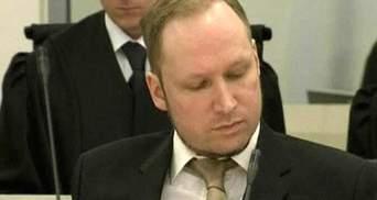 Поліція заперечила існування спільників у терориста Брейвіка