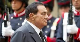 Экс-президент Египта Хосни Мубарак попал в больницу