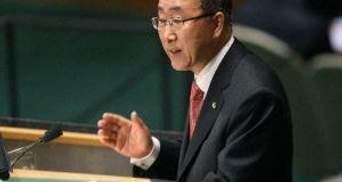 Генсек ООН выступает за расширение миссии СБ ООН в Сирии