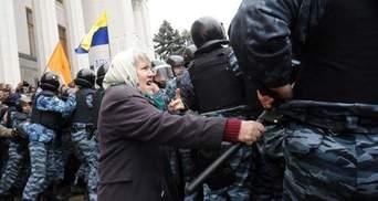 Рада прийняла закон, проти якого протестували чорнобильці та афганці