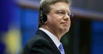 Фюле: Україна провалила верховенство права