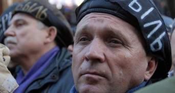 Під Верховною Радою бойкотує більше сотні чорнобильців