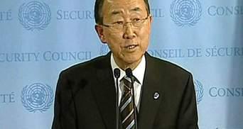 Генсек ООН: Возрастает опасность гражданской войны в Сирии