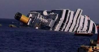 В Італії розпочався демонтаж лайнера Costa Concordia