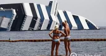 В Італії почали демонтаж лайнера Costa Concordia