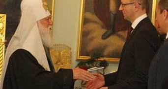 Филарет наградил оппозицию церковными орденами и пожелал успеха