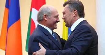 Лукашенко привітав Януковича з днем народження