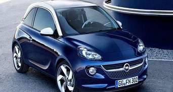 """Компанія Opel предcтавила нову малолітражку """"Opel Adam"""""""