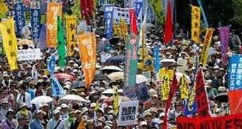 Более 170 тысяч японцев протестуют против эксплуатации АЭС