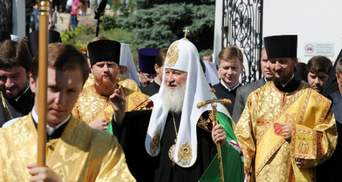 Литургия на Киево-Печерской площади собрала несколько тысяч верующих