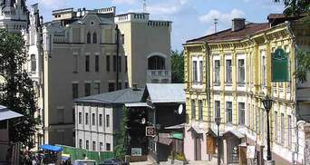 Андреевскому спуску грозит разрушение из-за неконтролируемого строительства