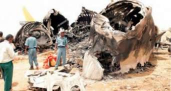 Причиною авіакатастрофи в Судані імовірно став вибух на борту літака