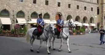 В Италии увеличилось количество грабителей