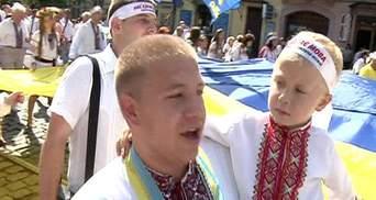 Львів'яни святкують День незалежності урочистою ходою