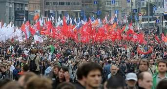 """Російська опозиція каже про 100 тисяч учасників """"Маршу мільйонів"""" (Фото)"""