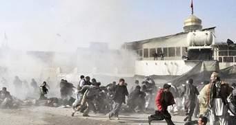 Смертник в Афганистане взорвал патруль НАТО