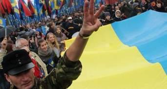 В Киеве прошли вече и Марш борьбы УПА (Фото)