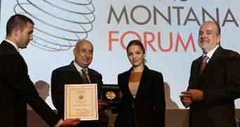 Дочери Тимошенко дали медаль за вклад в защиту демократии