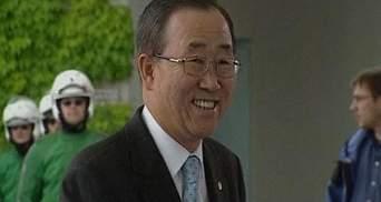 """Пан Ги Мун назвал PSY """"знаменитым корейцем"""""""