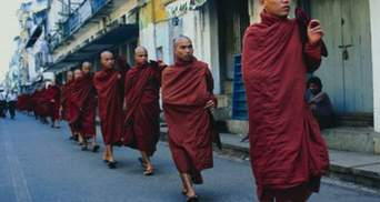 У Тибеті чоловік підпалив себе на знак протесту