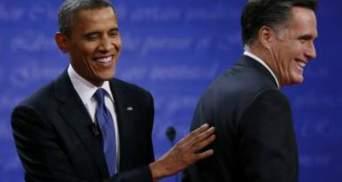 Обама і Ромні мають однаковою кількістю голосів на першій ділянці, що проголосувала