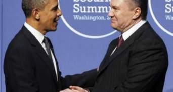 Янукович привітав Обаму з перемогою на виборах