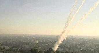 Израильские боевики атакуют объекты в секторе Газа