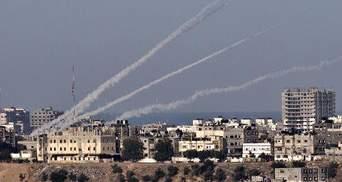 Сегодня Израиль отбил ракетную атаку на Тель-Авив