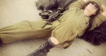 Израильские солдаты выкладывают собственные фото из мест боевых действий Instagram (Фото)