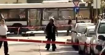 В центре Тель-Авива взорвали автобус: 10 человек ранены