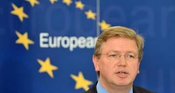 Єврокомісар: Асоціацію України з ЄС підпишуть, ймовірно, через рік