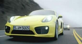 Cayman - самый доступный автомобиль Porsche