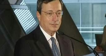 Голова ЄЦБ Маріо Драгі - людина року за версією Financial Times