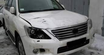Міліція показала, як виглядає авто Меладзе після аварії (Фото)