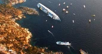 Costa Concordia витягнуть з води не пізніше вересня цього року