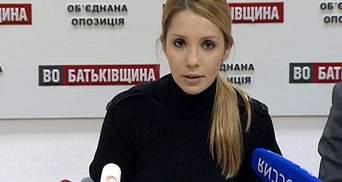 Тимошенко не признает обвинений в убийстве Щербаня