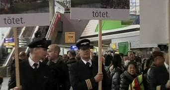 Європейські пілоти протестують проти довгих нічних польотів
