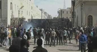 Более 100 египтян пострадали во время столкновений с полицией в день годовщины революции