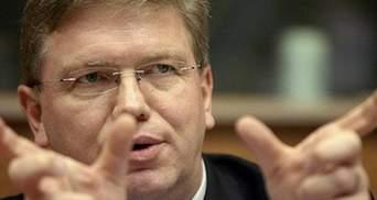 Фюле наголосив, що Україна не зможе приєднатися до ЄС, якщо приєднається до когось іншого