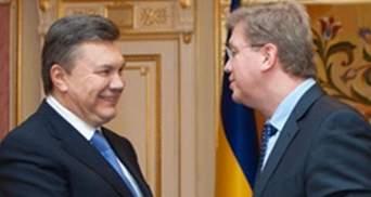 Янукович запевнив Фюле, що Угода з ЄС – пріоритетна для України