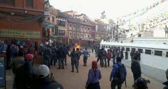 Сотий чернець спалив себе у Катманду (Фото)