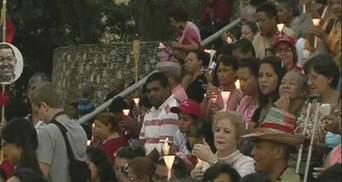 Тысячи венесуэльцев помолились за здоровье Уго Чавеса