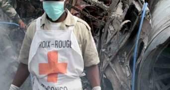 У Конго впав літак: десятки людей загинули