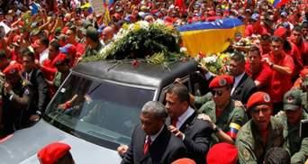 Чавес умер от сердечного приступа, - начальник охраны